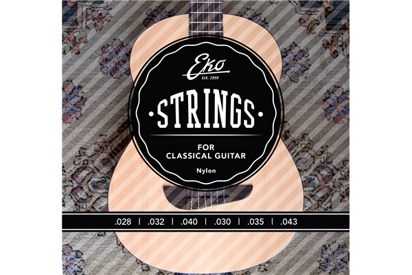 Corde Chitarra Classica 28-43 Medium Tension Set/6