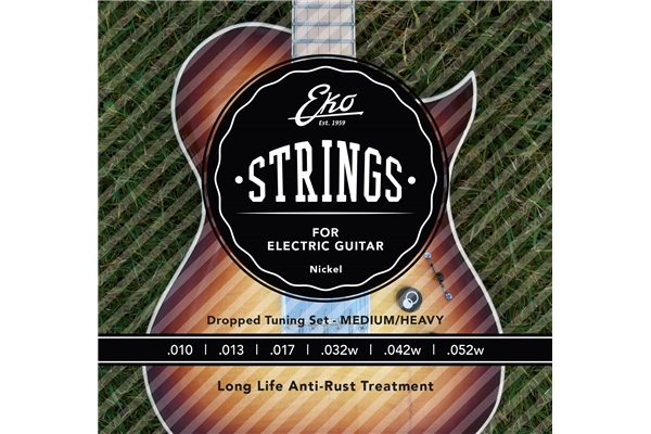 Electric Guitar Strings 10-52 set